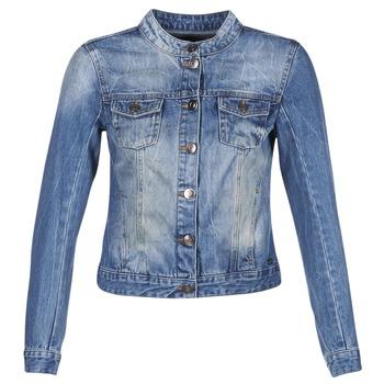 Vêtements Femme Vestes en jean DDP DASTIONA Bleu medium