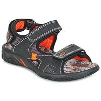 Chaussures Garçon Sandales et Nu-pieds Primigi PACIFIC Noir