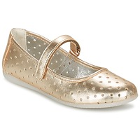 Chaussures Fille Ballerines / babies Primigi FANTASY FLAT Or