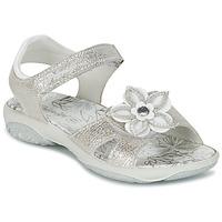 Chaussures Fille Sandales et Nu-pieds Primigi BREEZOU Argent