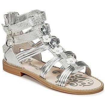 Chaussures Fille Sandales et Nu-pieds Primigi FANTAYS Argent