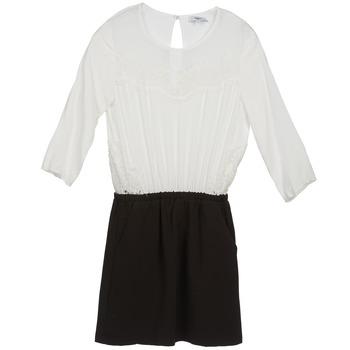 Vêtements Femme Robes courtes Suncoo CELESTINE Noir / Blanc