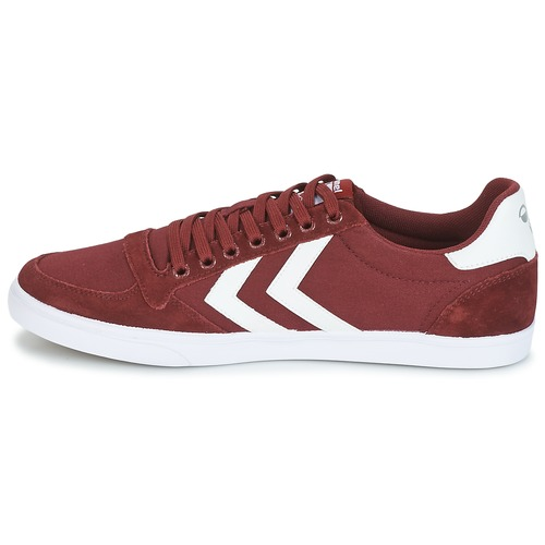 Hummel STADIL CANEVAS LOW Bordeaux