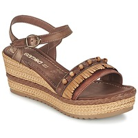 Chaussures Femme Sandales et Nu-pieds Samoa MOLAY Marron