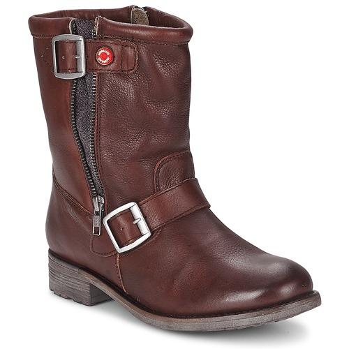 Chaussures Femme Boots Nobrand FISCHERIES Marron