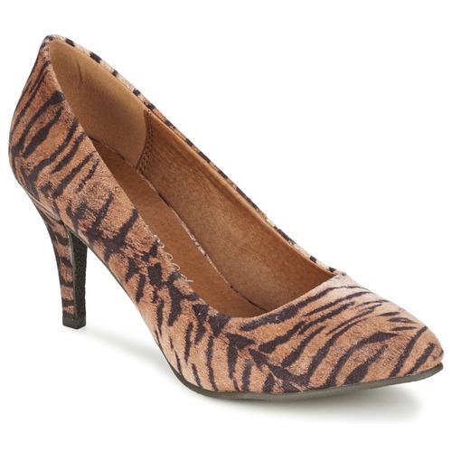 Chaussures Femme Escarpins Moony Mood LENI Tigré
