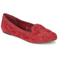 Chaussures Femme Mocassins Moony Mood LUDIA Rouge
