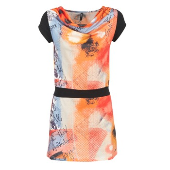 Vêtements Femme Robes courtes Smash CITRON Orange / Noir