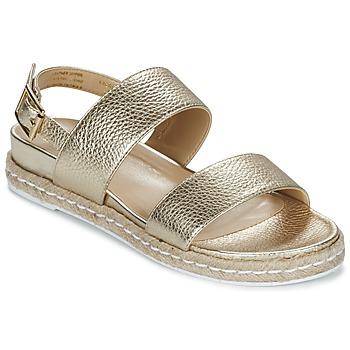 Chaussures Femme Sandales et Nu-pieds Dune London LACROSSE Doré