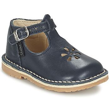 Chaussures Fille Ballerines / babies Aster BIMBO Bleu