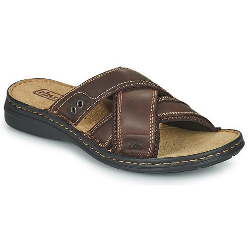 Chaussures Homme Mules TBS BENAIX Marron
