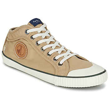 Chaussures Homme Baskets montantes Pepe jeans INDUSTRY EARTH Camel