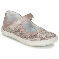 Chaussures Fille Ballerines / babies GBB PLACIDA Rose doré