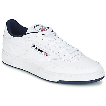 Chaussures Air max tnHomme Baskets basses Reebok Classic CLUB C 85 Blanc / Bleu
