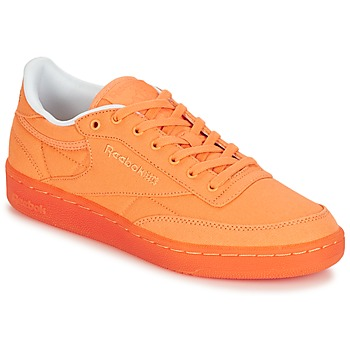 Chaussures Air max tnFemme Baskets basses Reebok Classic CLUB C 85 CANVAS Orange