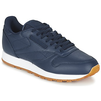 Chaussures Homme Baskets basses Reebok Classic CL LEATHER PG Bleu
