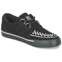 Chaussures Air max tnBaskets basses TUK CREEPERS SNEAKERS Noir / blanc
