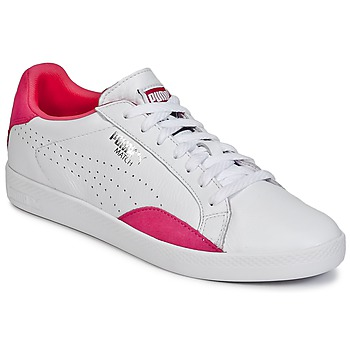 Chaussures Femme Baskets basses Puma WNS MATCH LO BASIC.W Blanc / Violet