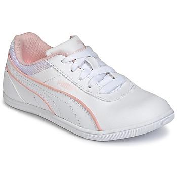 Chaussures Air max tnFille Baskets basses Puma JR MYNDY 2 SL.WHT Blanc