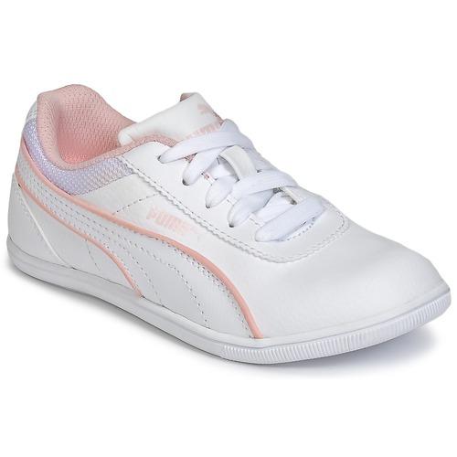 Chaussures Fille Baskets basses Puma JR MYNDY 2 SL.WHT Blanc