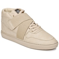 Chaussures Homme Baskets montantes Sixth June NATION STRAP Beige