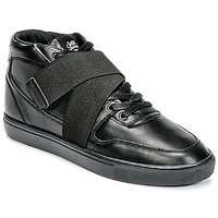 Chaussures Homme Baskets montantes Sixth June NATION STRAP Noir