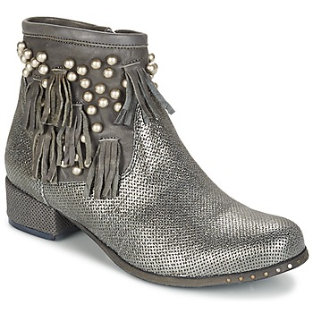 Chaussures Femme Boots Mimmu MOONSTROP Taupe / Argenté
