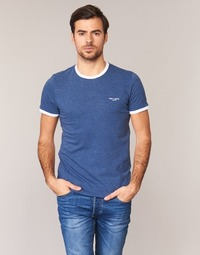 Vêtements Homme T-shirts manches courtes Teddy Smith THE TEE Bleu