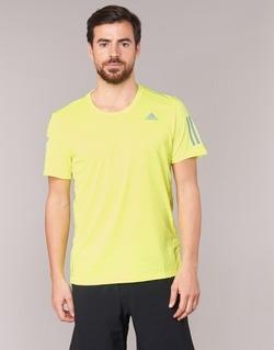 Vêtements Homme T-shirts manches courtes adidas Performance RS SS TEE M Jaune