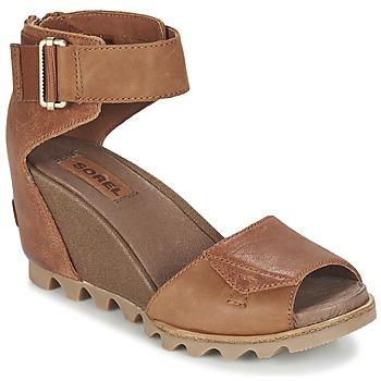 Chaussures Femme Sandales et Nu-pieds Sorel JOANIE SANDAL Marron rustique