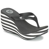 Chaussures Femme Tongs Zaxy LIPSTICK V Noir / Blanc