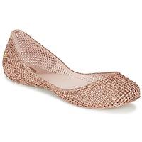 Chaussures Air max tnFemme Ballerines / babies Zaxy AMORA Rose métallisé
