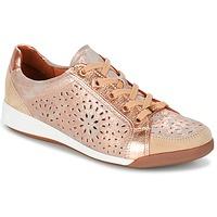 Chaussures Femme Baskets basses Ara ZIMELLE Rose métallisé