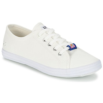 Chaussures Femme Baskets basses Banana Moon RAYA Blanc