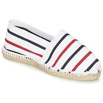 Chaussures Espadrilles 1789 Cala CLASSIQUE Blanc / Bleu / Rouge