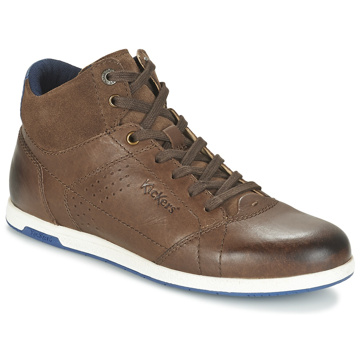 kickers barracuda marron chaussure pas cher avec chaussures basket montante homme. Black Bedroom Furniture Sets. Home Design Ideas