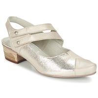 Chaussures Femme Escarpins Dorking MENET Argent / Gris