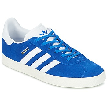 Chaussures Air max tnEnfant Baskets basses adidas Originals GAZELLE J Bleu