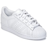 Chaussures Air max tnEnfant Baskets basses adidas Originals SUPERSTAR Blanc