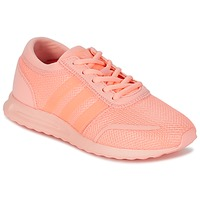 Chaussures Fille Baskets basses adidas Originals LOS ANGELES J Rose / Corail