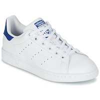 Chaussures Air max tnEnfant Baskets basses adidas Originals STAN SMITH J Blanc