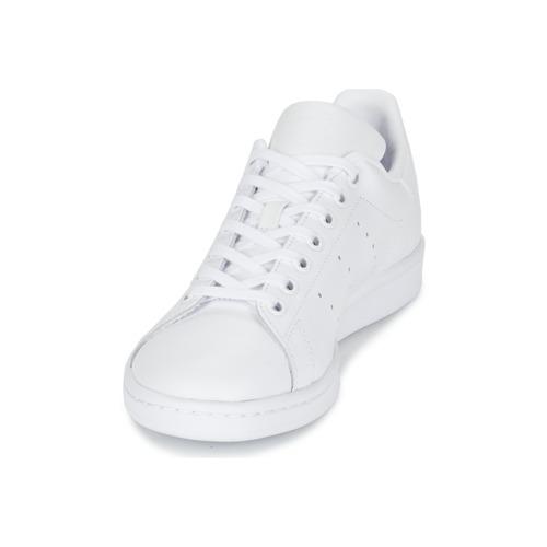 adidas Originals STAN SMITH J Blanc
