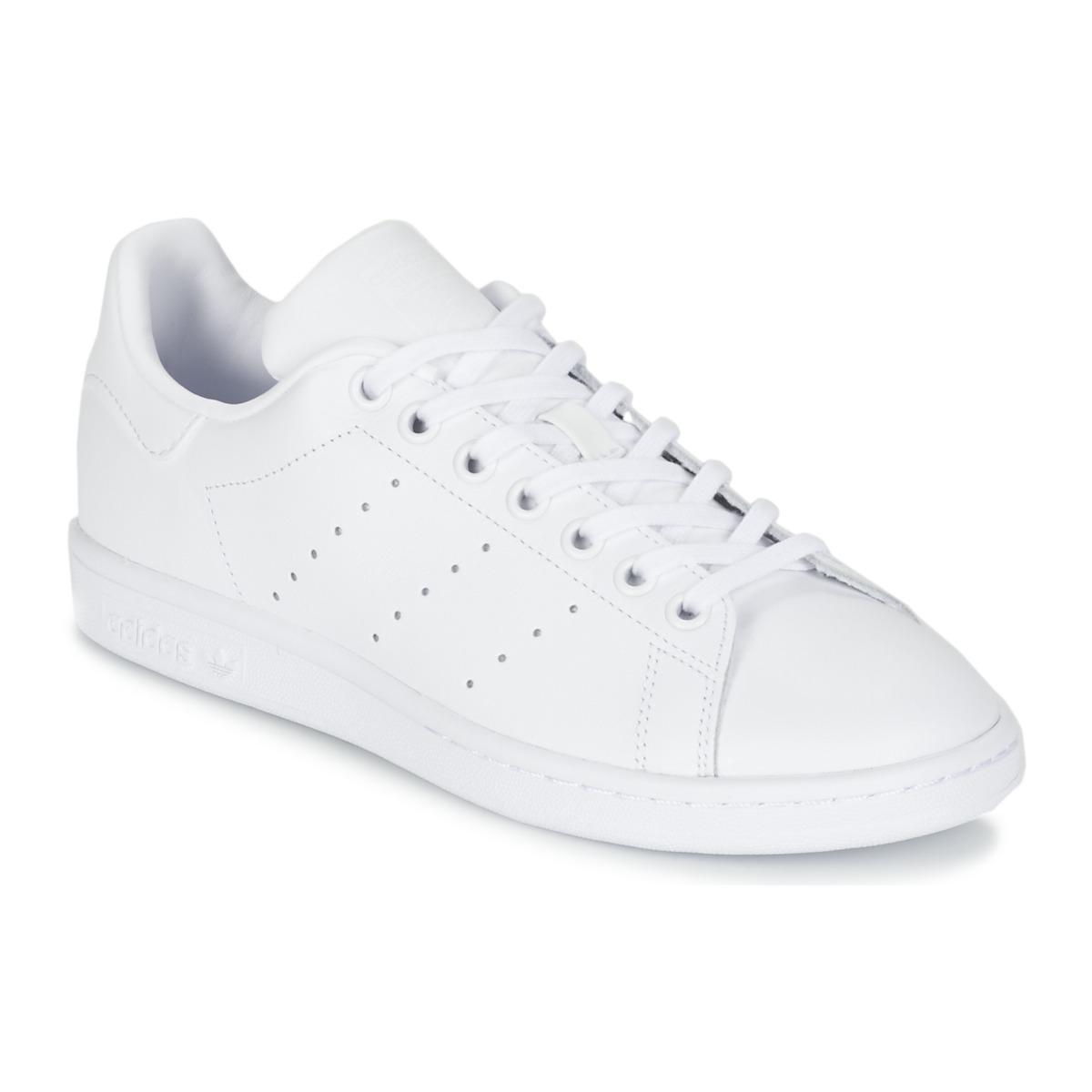 adidas originals stan smith j blanc chaussure pas cher avec chaussures baskets. Black Bedroom Furniture Sets. Home Design Ideas