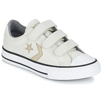Chaussures Garçon Baskets basses Converse STAR PLAYER 3V TEXTILE OX Ecru / Kaki
