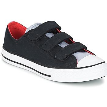 Chaussures Garçon Baskets basses Converse CHUCK TAYLOR ALL STAR 3V SPRING FUNDAMENTALS OX Noir / Bleu / Blanc