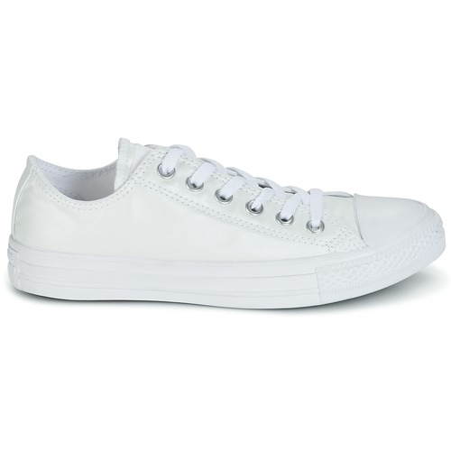 Converse CHUCK TAYLOR ALL STAR SEASONAL METALLICS OX Blanc Metallic