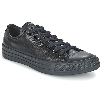 Chaussures Femme Baskets basses Converse CHUCK TAYLOR ALL STAR SEASONAL METALLICS OX Noir