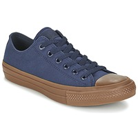 Chaussures Homme Baskets basses Converse CHUCK TAYLOR ALL STAR II TENCEL CANVAS OX Marine / Marron