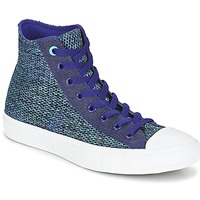Chaussures Homme Baskets montantes Converse CHUCK TAYLOR ALL STAR II OPEN KNIT HI Bleu