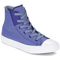 Chaussures Enfant Baskets montantes Converse CHUCK TAYLOR ALL STAR II BASKETWEAVE FUSE TD HI Indigo / Bleu / Blanc
